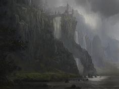 Castle of Aream by Jan Ditlev Christensen