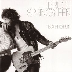 """Bruce Springsteen released his third album, """"Born To Run"""". It was the album that really set off his career, with hit songs and radio airplay up the a…. Greatest Album Covers, Rock Album Covers, Classic Album Covers, Music Album Covers, Music Albums, Lp Album, Pop Rock, Rock And Roll, Bruce Springsteen Albums"""