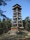 De toeristentoren in Herentals. Ideaal bij herfstweer.