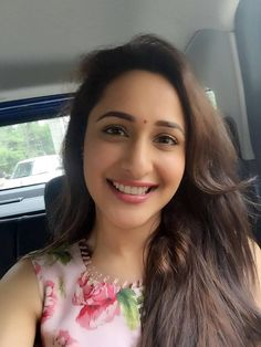 Pragya Jaiswal looks dreamy while she attended a popular Telugu show Memu Saitam. She was wearing an Anushree Reddy floral ensemble. The pretty flowery flourish print outfit typically lend to a statement look, making the actress look drop dead gorgeous. To enhance her look, she style her outfit with simple earrings from Anandita. The freshness …