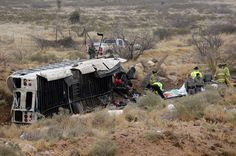 At least 10 killed in Texas when prison bus strikes train  1/14/15