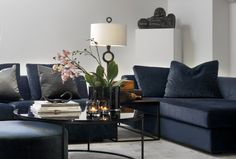 Furniture Layout, Interior Inspiration, Family Room, Couch, Living Room, Design, Home Decor, Future, Black