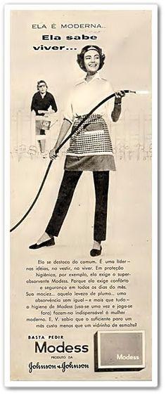 Caríssimas Catrevagens...: ...Propagandas do final da década de 50.