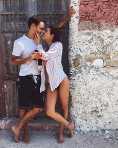 Ser espontáneo y natural en las fotos con tu pareja tiene a veces mucho más encanto.