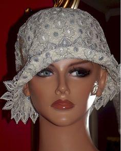 Wedding Hat 1920s Hat Flapper