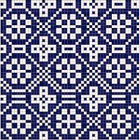 ver todos estes padrões em:   HALLISTE RISTIKIRI       via Little helsinki      via Pinterest      via hancock´s house of ha...