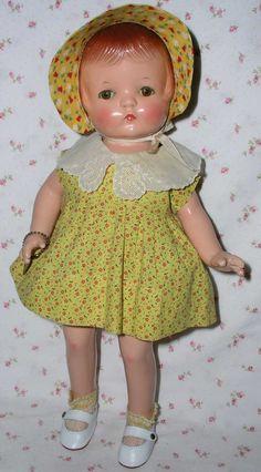 """1930s Effanbee 15"""" PATSY Joan -- BEAUTY w/ Two Original Outfits"""