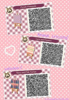 1505 Best Acnl Achhd Qr Codes Images In 2019 Animal