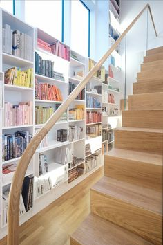 Crieff Stair and bookcases