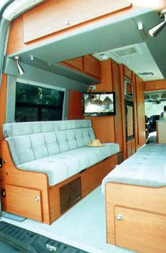 Sportsmobile Custom Camper Vans - Sprinter EB-110S