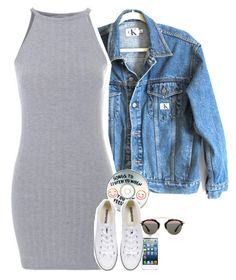 """""""Set 337 -"""" by xjulie1999 ❤ liked on Polyvore featuring Calvin Klein Jeans, Sharpie, Converse and Christian Dior"""