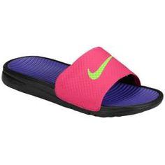 0ee0fbab2d1e Nike Benassi Solarsoft Slide - Black Sport Red