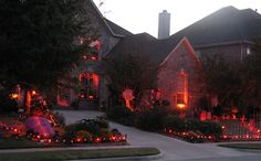 Awesome outdoor #halloween decorations