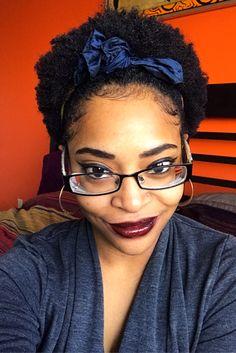 Natural hair queen Aneka| misscoilyhair.com