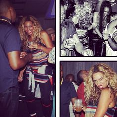 Beyoncé dances with hubby Jay Z after his concert. They're too cute!  check out my hip hop beats @ http://kidDyno.com