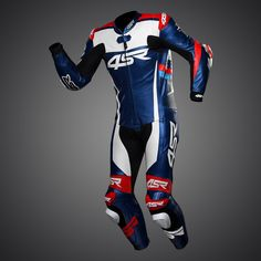 This Racing Replica Seeley suits colour scheme was originally designed for Alastair Seeley in the Tyco BMW, BSB British Superbike Championship. Bike Suit, Motorcycle Suit, Motorcycle Leather, Motorsport Clothing, Kevlar Jeans, Motos Bmw, Motorbike Accessories, Motorbike Jackets, Crossfit Clothes