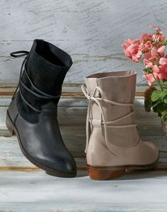 Freya Boots by Latigo are very wearable, with a cushy padded footbed for hours of comfort.