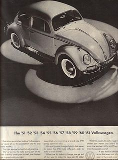 All The Great 1960s Volkswagen Ads