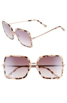 7cdf0412b61f Free shipping and returns on Web 57mm Sunglasses at Nordstrom.com.  Squared-off
