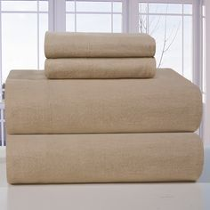 4 Piece Flannel Sheet Set
