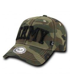 Army Woodland Camo Cap Army Fatigue 8bc9d89c6795