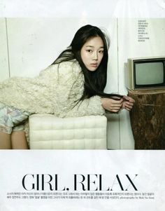 Jung Yeon Joo for Sure Magazine December 2012