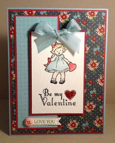 SC418 Greeting Cards Kid Valentine by amyfitz1 - Cards and Paper Crafts at Splitcoaststampers