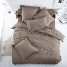 Image Plain Cotton Mix Duvet Cover SCENARIO
