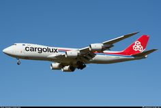 LX-VCA Cargolux Airlines International Boeing 747-8R7F