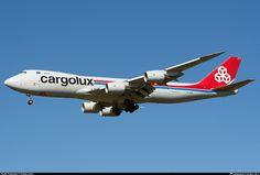 LX-VCA Cargolux Airlines International Boeing 747-8R7F