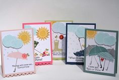 Scattered Showers & Additions card set