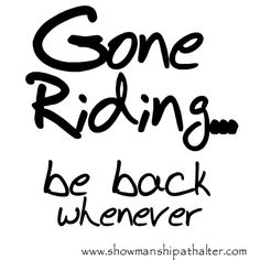 All Day! www.showmanshipathalter.com