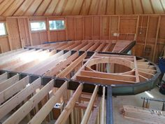To be clear, Smiling Woods Yurts supplies the exterior of the main yurt structure which includes walls (with siding, windows and doors) Silo House, Tiny House Cabin, Yurt Loft, Building A Yurt, Yurt Interior, Yurt Living, Geodesic Dome Homes, Tree House Plans, Great Buildings And Structures
