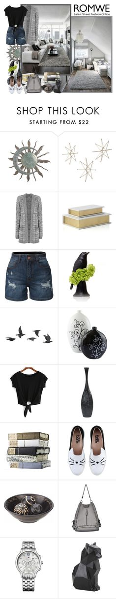 """""""Romwe.com - Contest!"""" by asia-12 ❤ liked on Polyvore featuring Uttermost, WearAll, LE3NO, Jayson Home, Karl Lagerfeld, Tommy Hilfiger and PyroPet"""