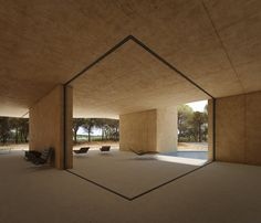 Almo House by Camilo Rebelo for IMAESTRI  The roof adds the impression to a stunning interior