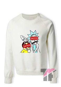 485cb958d5c3b4 Rick and Morty Supreme Sensors Sweatshirt