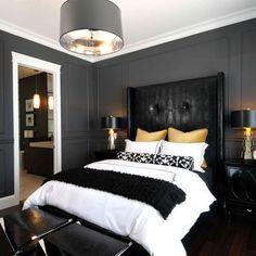 Spaces Black And Gold Design, Pictures, Remodel, Decor and Ideas - page 8