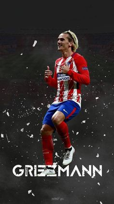 A.G. Antoine Griezmann, Football Is Life, Fantasy Football, Football Soccer, Cr7 Messi, Neymar, David Beckham Soccer, Best Soccer Shoes, Football Design