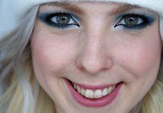 Nalinkované Vánoce 2013: Dramatické Ptačí Linky Makeup Tutorial http://getthelouk.com/?p=3600