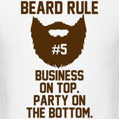 Beard Rule 5 - My Fashion World 2019 Homemade Beard Oil, Beard Quotes, Beard Tips, Beard Growth, Beard Lover, Beard Gang, Sarcastic Quotes, Hair And Beard Styles, Bearded Men