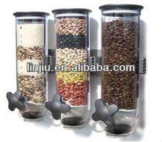 Triple parede dispensador, dispensador de cereais, distribuidor de alimentos, três barris-Dispensador de Bebidas-ID do produto:1417275490-portuguese.alibaba.com
