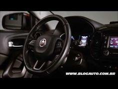 Veja todos os detalhes do interior do Fiat Toro 2.4 Freemont 2017 - Blog...