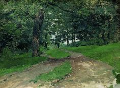 In the forest at winter - Isaac Levitan - WikiPaintings.org