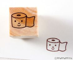 Roll paper Rubber Stamp