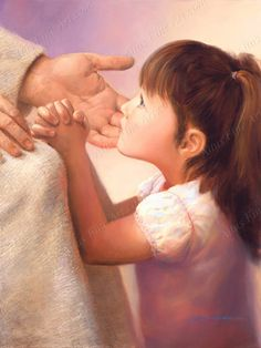 Pictures of Jesus with Children by Jay Bryant Ward | Altus Fine Art