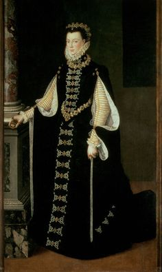 Elizabeth de Valois  Sofonisba Anguissola