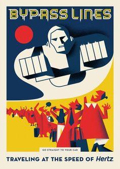 #Posters #Illustration