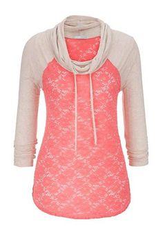 Love the lace!Hoodia