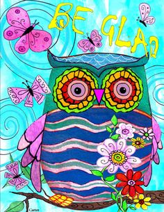 Be Glad Owl
