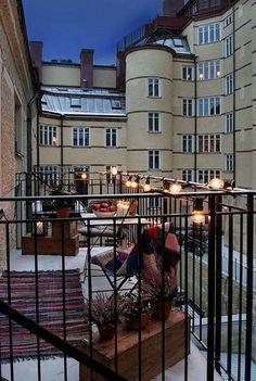 Stylish Small Balcony Ideas For Apartment 13 - Balcony Garden